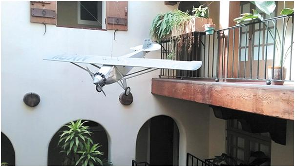 Lindbergh Plane